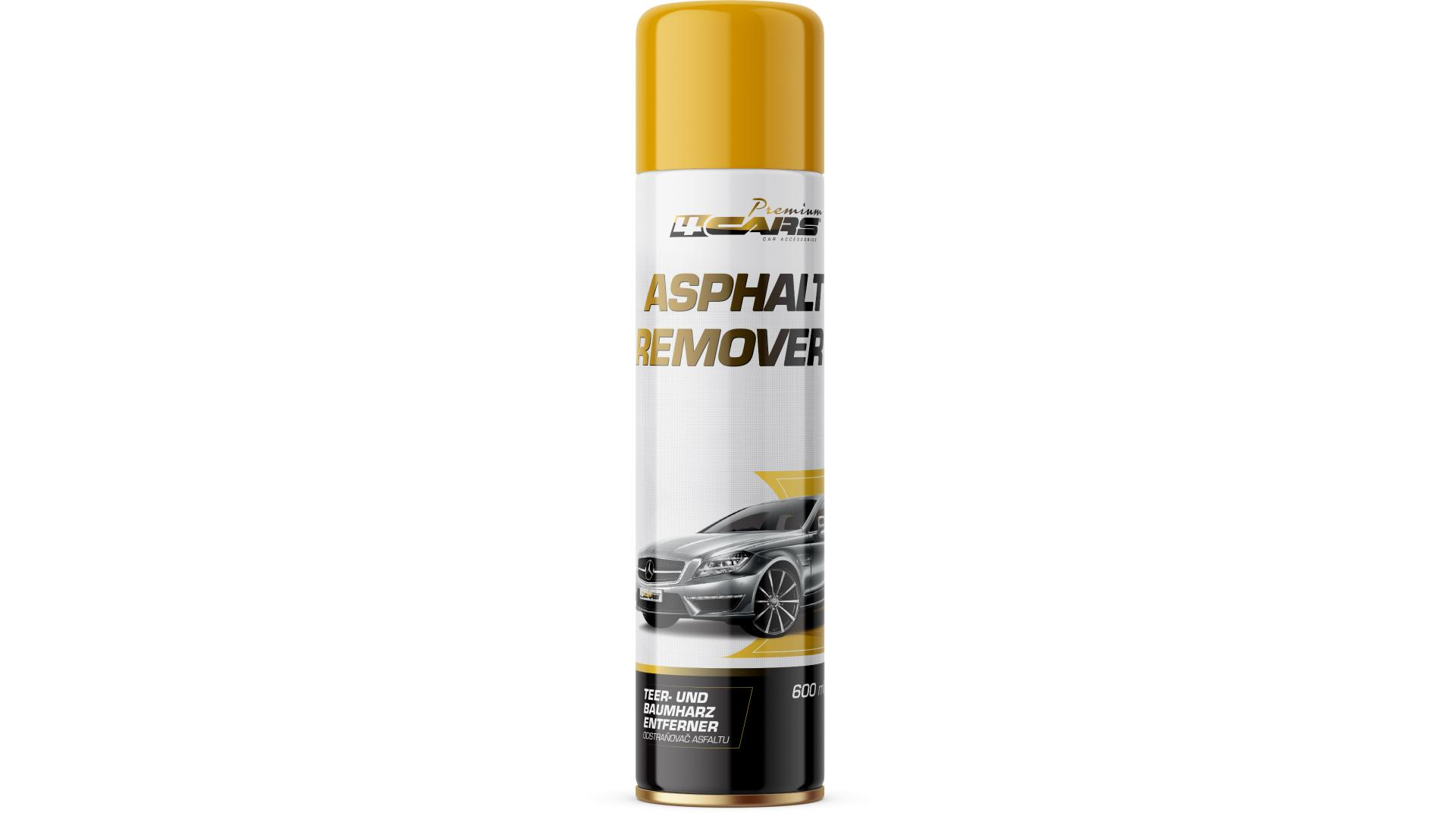 4CARS Tar remover - spray - 600ml
