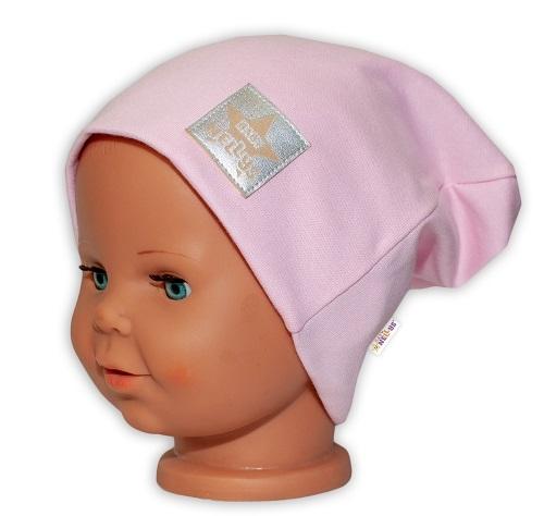 baby-nellys-hand-made-detska-funkcni-cepice-s-dvojitym-lemem-sv-ruzova-obvod-52-54cm-52-54-cepicka-obvod