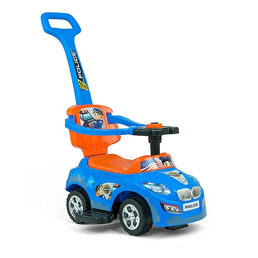 Dětské jezdítko 2v1 Milly Mally Happy - blue-orange - modrá