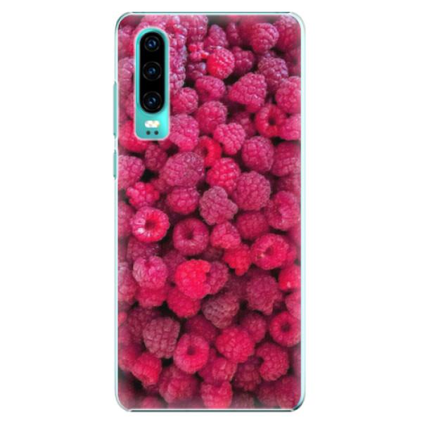 Plastové pouzdro iSaprio - Raspberry - Huawei P30