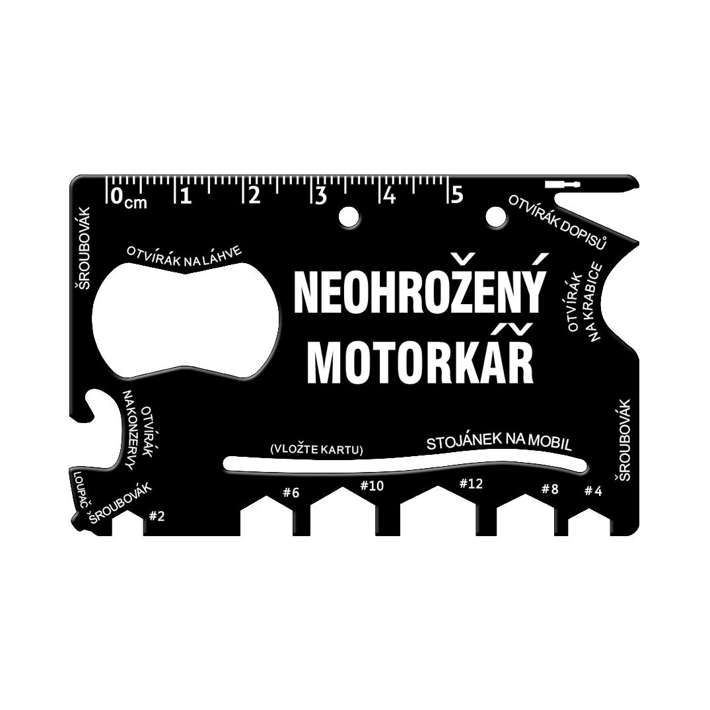 Multinářadí do peněženky - Motorkář