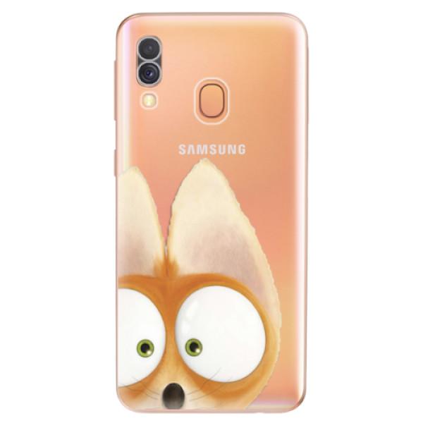 Odolné silikonové pouzdro iSaprio - Fox 02 - Samsung Galaxy A40