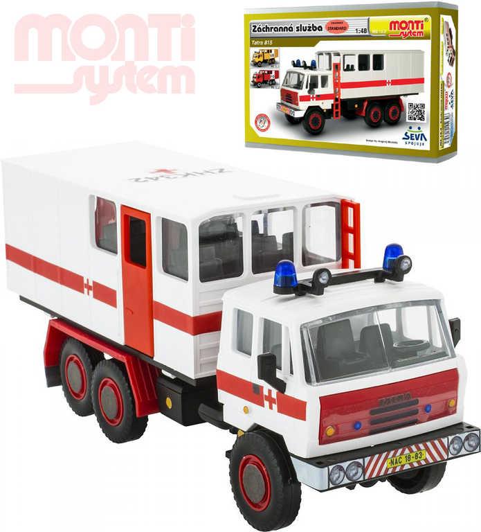 MONTI SYSTÉM MS12.3 Tatra 815 Záchranná služba 1:48 STAVEBNICE