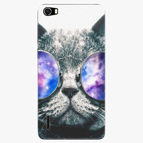 Plastový kryt iSaprio - Galaxy Cat - Huawei Honor 6