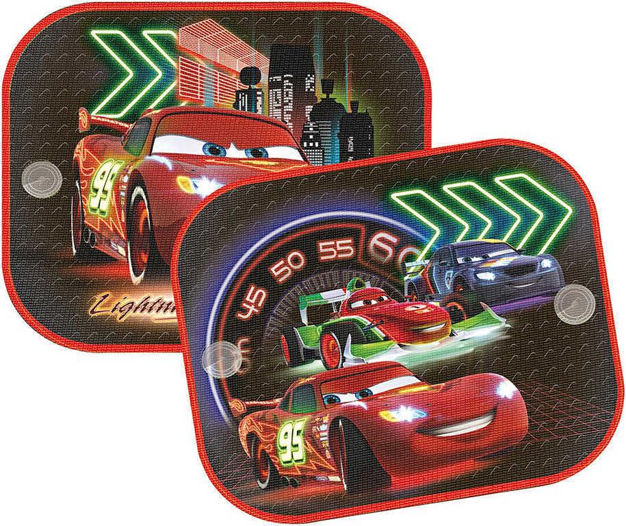 OLYMPTOY Stínítka do auta sada 2 clony na boční sklo AUTA (Cars)