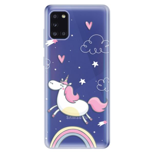 Odolné silikonové pouzdro iSaprio - Unicorn 01 - Samsung Galaxy A31