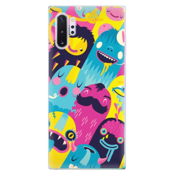 Odolné silikonové pouzdro iSaprio - Monsters - Samsung Galaxy Note 10+