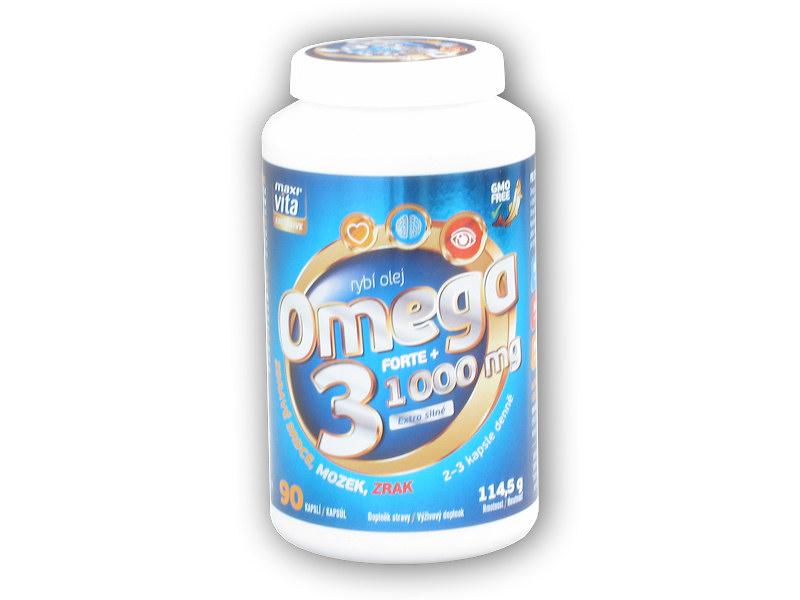 MaxiVita Exclusive Omega 3 forte+ 90cps