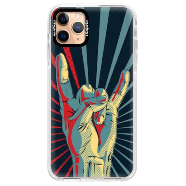 Silikonové pouzdro Bumper iSaprio - Rock - iPhone 11 Pro Max