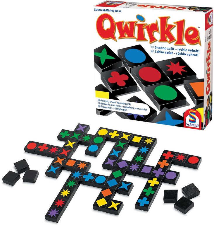 ADC Hra strategická Qwirkle *SPOLEČENSKÉ HRY*