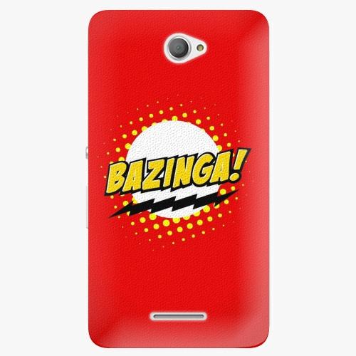 Plastový kryt iSaprio - Bazinga 01 - Sony Xperia E4
