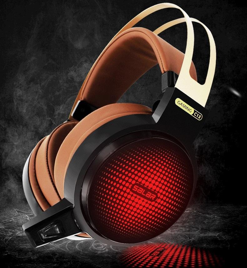 Náhlavní sluchátka Salar - Hnědá - starlight