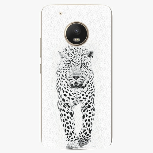 Plastový kryt iSaprio - White Jaguar - Lenovo Moto G5 Plus