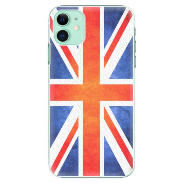 Plastové pouzdro iSaprio - UK Flag - iPhone 11