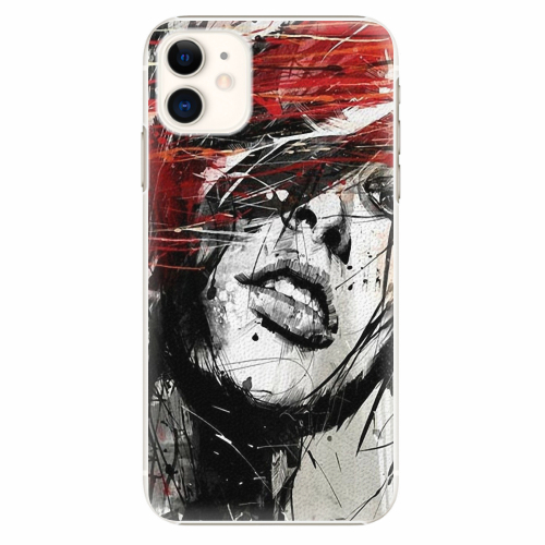 Plastový kryt iSaprio - Sketch Face - iPhone 11