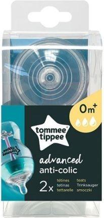 Silikonová savička Tommee Tippee Advanced 0 +, 2 ks - 0/3měsíců