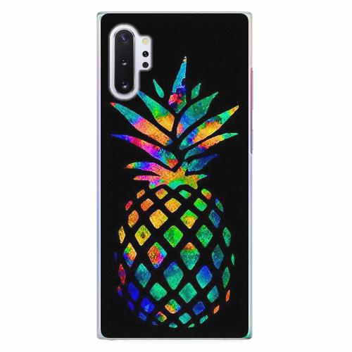Plastový kryt iSaprio - Rainbow Pineapple - Samsung Galaxy Note 10+