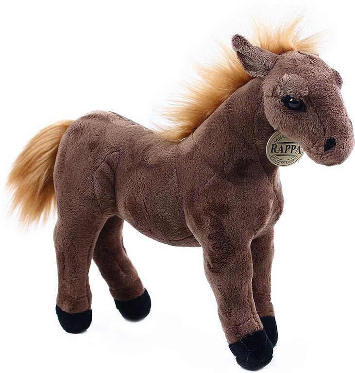 PLYŠ Kůň hnědý 29 cm
