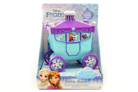 Bublifuk kočár Frozen