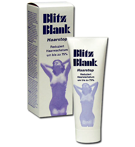 Krém proti ochlupení - BlitzBlank Haarstop 80 ml