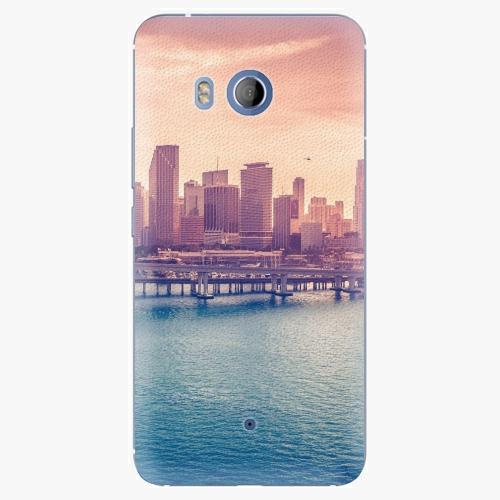 Plastový kryt iSaprio - Morning in a City - HTC U11