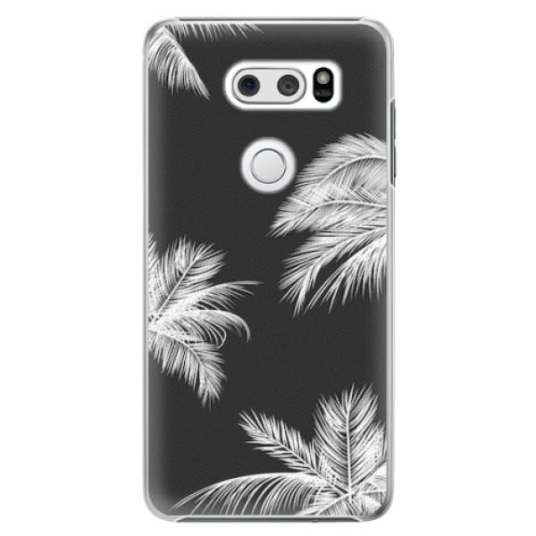 Plastové pouzdro iSaprio - White Palm - LG V30
