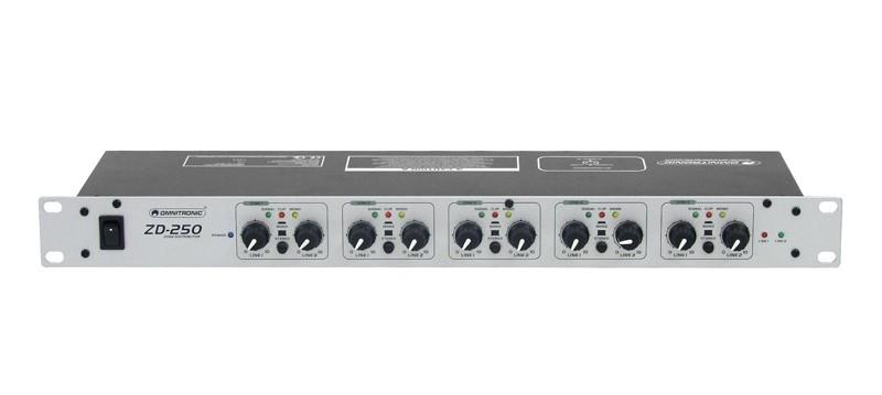 Omnitronic ZD-250, zónový distributor