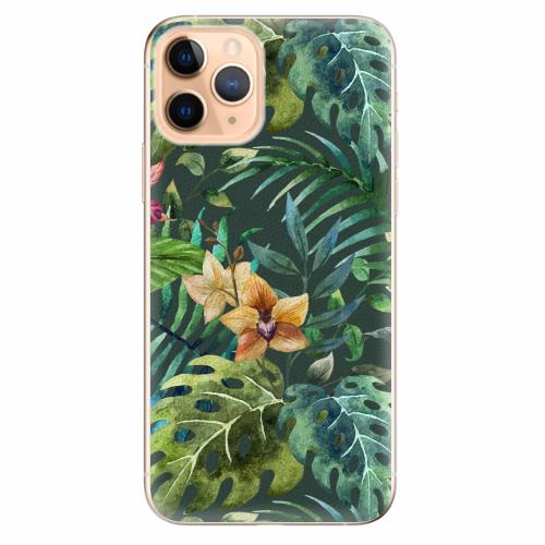 Silikonové pouzdro iSaprio - Tropical Green 02 - iPhone 11 Pro