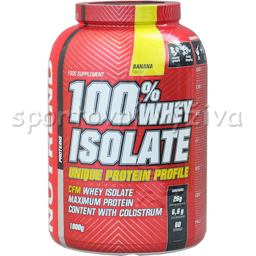 100% Whey Isolate - 1800g-banan
