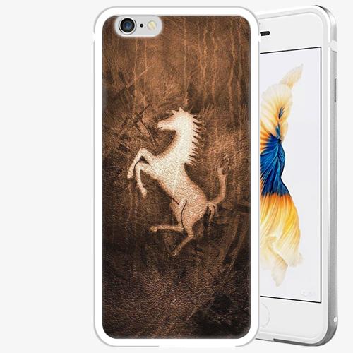 Plastový kryt iSaprio - Vintage Horse - iPhone 6 Plus/6S Plus - Silver