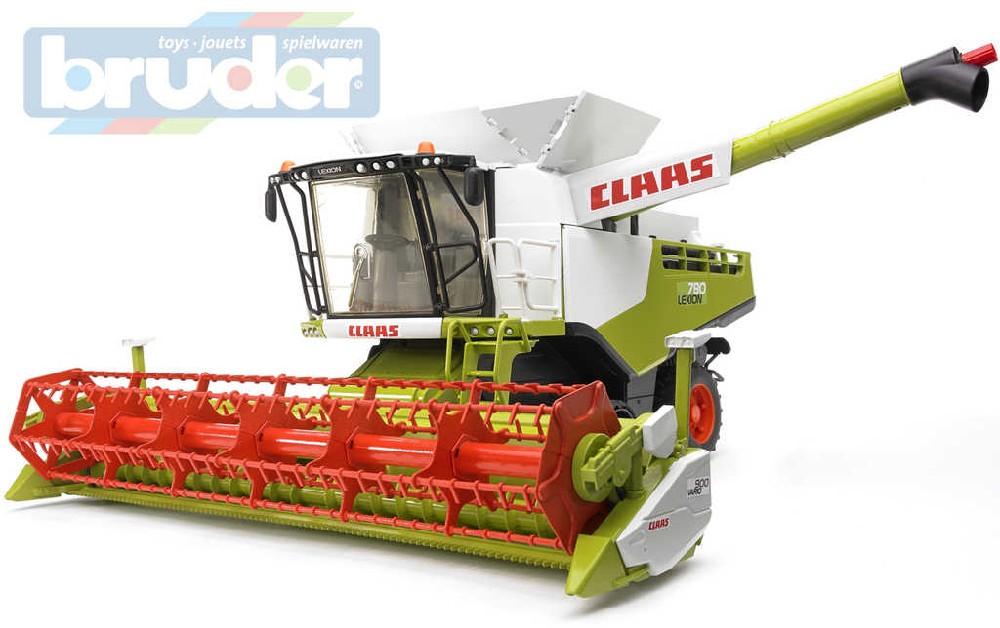 BRUDER 02119 (2119) Kombajn Claas Lexion 780 model 1:16 plast