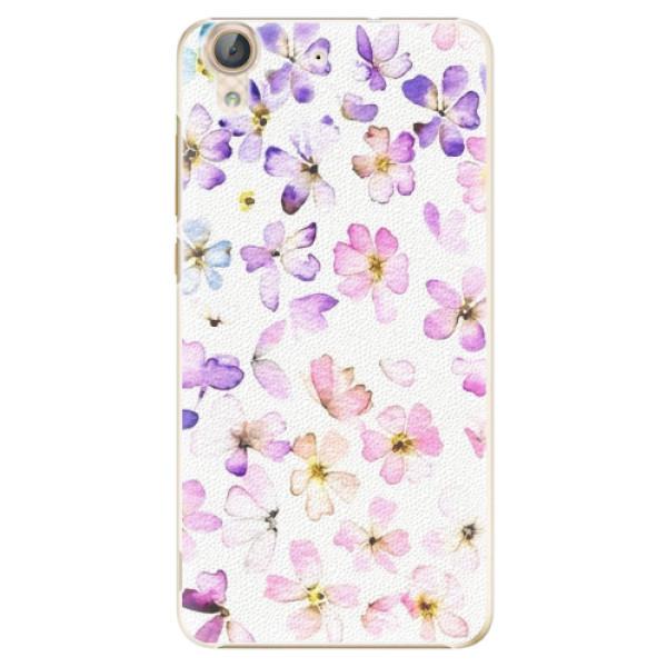 Plastové pouzdro iSaprio - Wildflowers - Huawei Y6 II