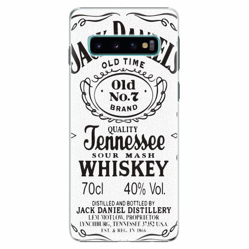 Plastový kryt iSaprio - Jack White - Samsung Galaxy S10