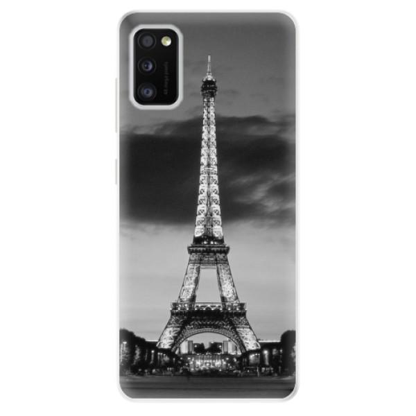 Odolné silikonové pouzdro iSaprio - Midnight in Paris - Samsung Galaxy A41