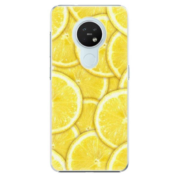 Plastové pouzdro iSaprio - Yellow - Nokia 7.2