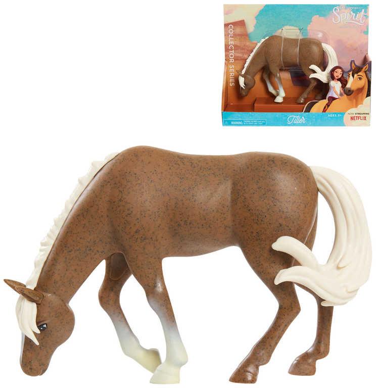 MATTEL SPIRIT Koník Tiller 18cm Volnost nadevše plast