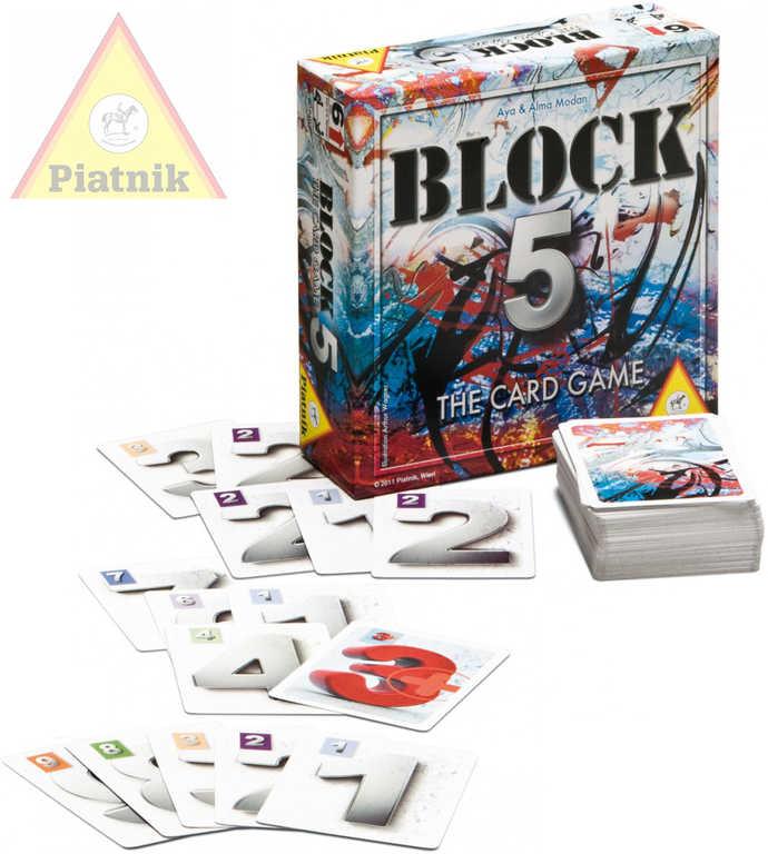 PIATNIK Hra karetní Block 5 *SPOLEČENSKÉ HRY*