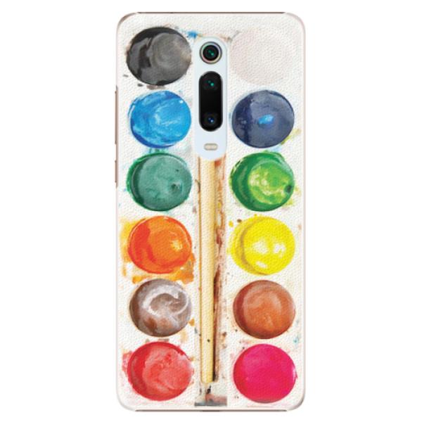 Plastové pouzdro iSaprio - Watercolors - Xiaomi Mi 9T Pro