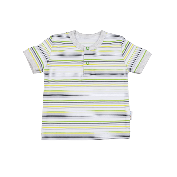 Tričko/polo kr. rukáv - Hippo - 92 (18-24m)