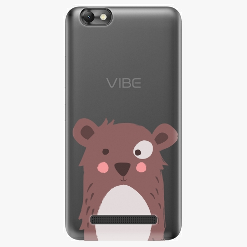 Plastový kryt iSaprio - Brown Bear - Lenovo Vibe C