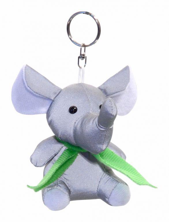 Přívěšek reflexní 3D - slon