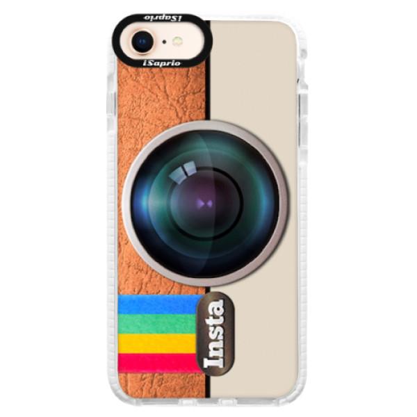 Silikonové pouzdro Bumper iSaprio - Insta - iPhone 8