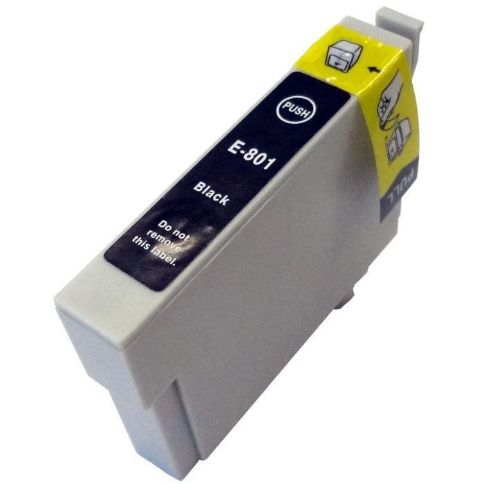 Inkoust T0801 kompatibilní černý pro Epson Stylus R360 (15ml)