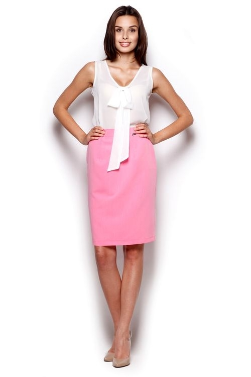 Dámská sukně M308 pink - Růžová/M