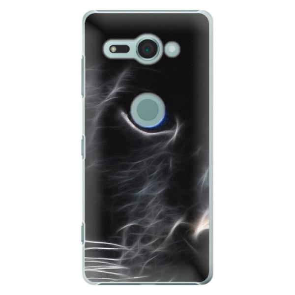 Plastové pouzdro iSaprio - Black Puma - Sony Xperia XZ2 Compact