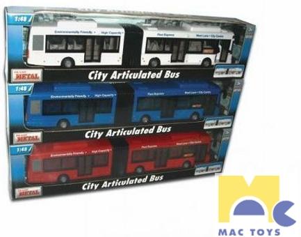 MAC TOYS Autobus dětský kloubový
