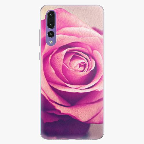 Plastový kryt iSaprio - Pink Rose - Huawei P20 Pro