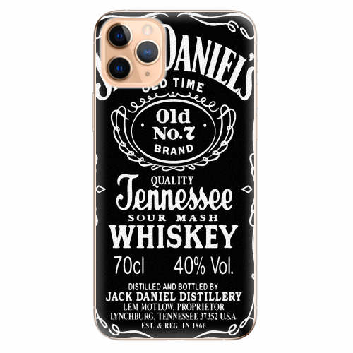 Silikonové pouzdro iSaprio - Jack Daniels - iPhone 11 Pro Max