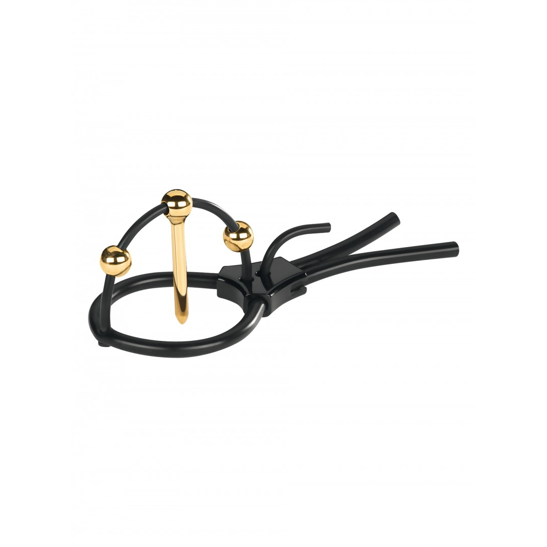 Elektrostimulátor Mystim - Plunging Pete Corona Strap