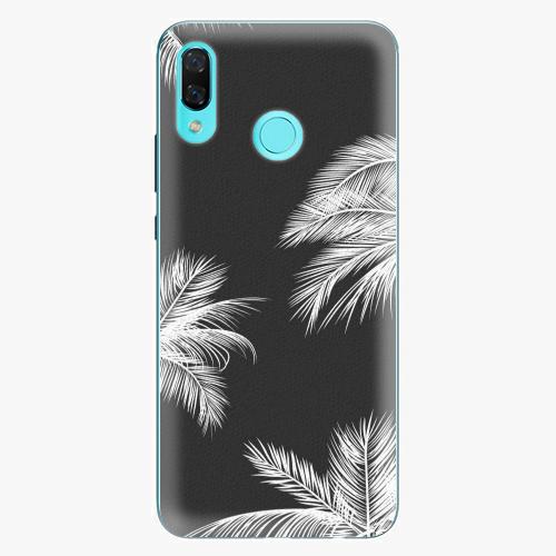 Plastový kryt iSaprio - White Palm - Huawei Nova 3